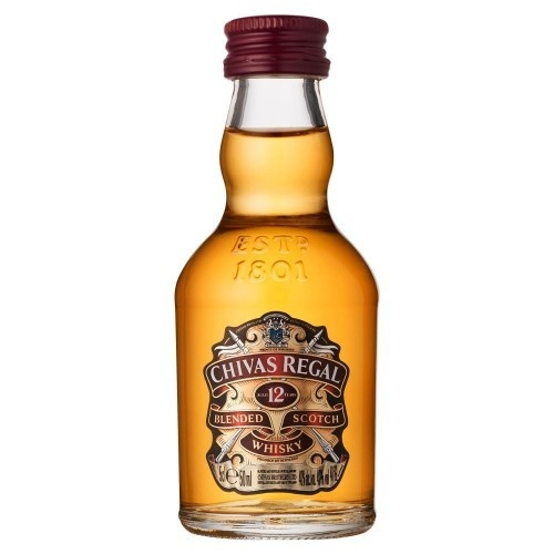 Chivas Regal 12 Year Old Scotch Whisky 50ml