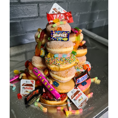 Mixed Donut Tower